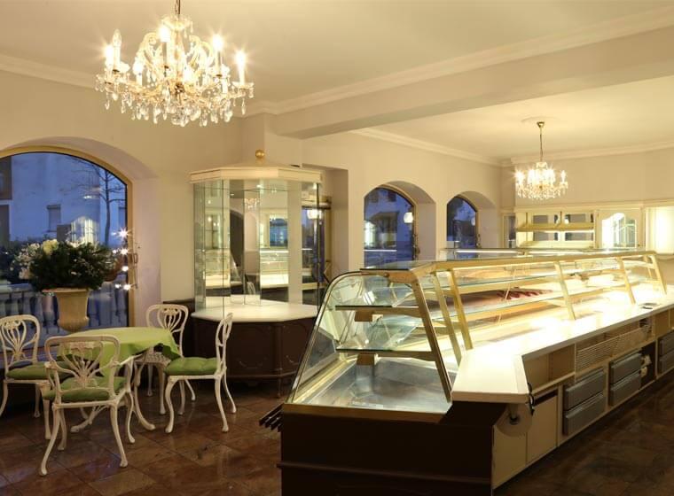 Innenbereich für Cafe Konditorei der Immobilie in Winhöring