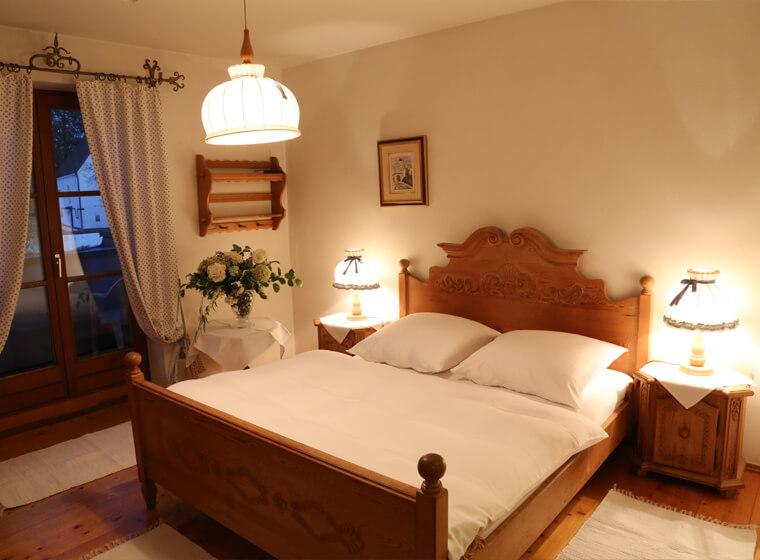 Schlafzimmer der Immobilie in Winhöring